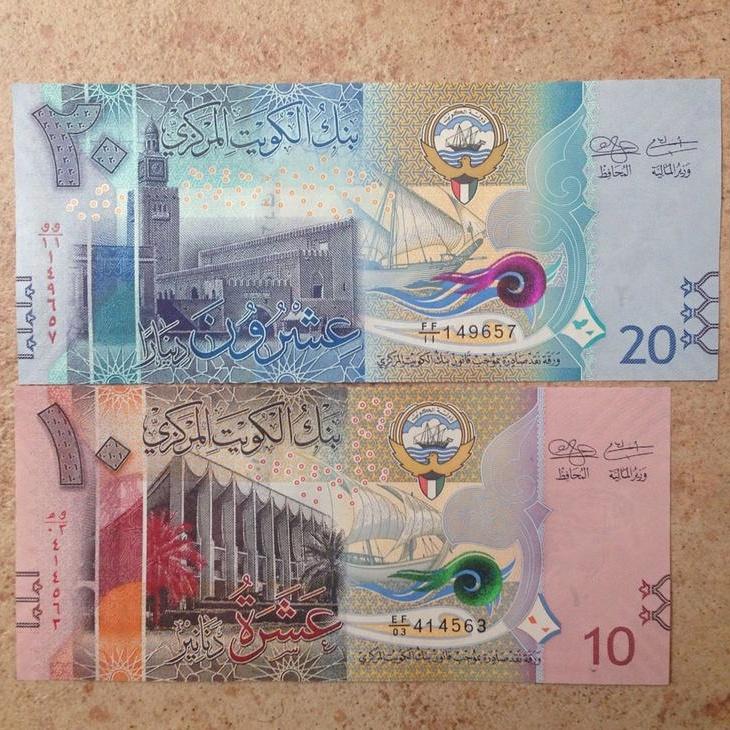 Kuwait dinar new